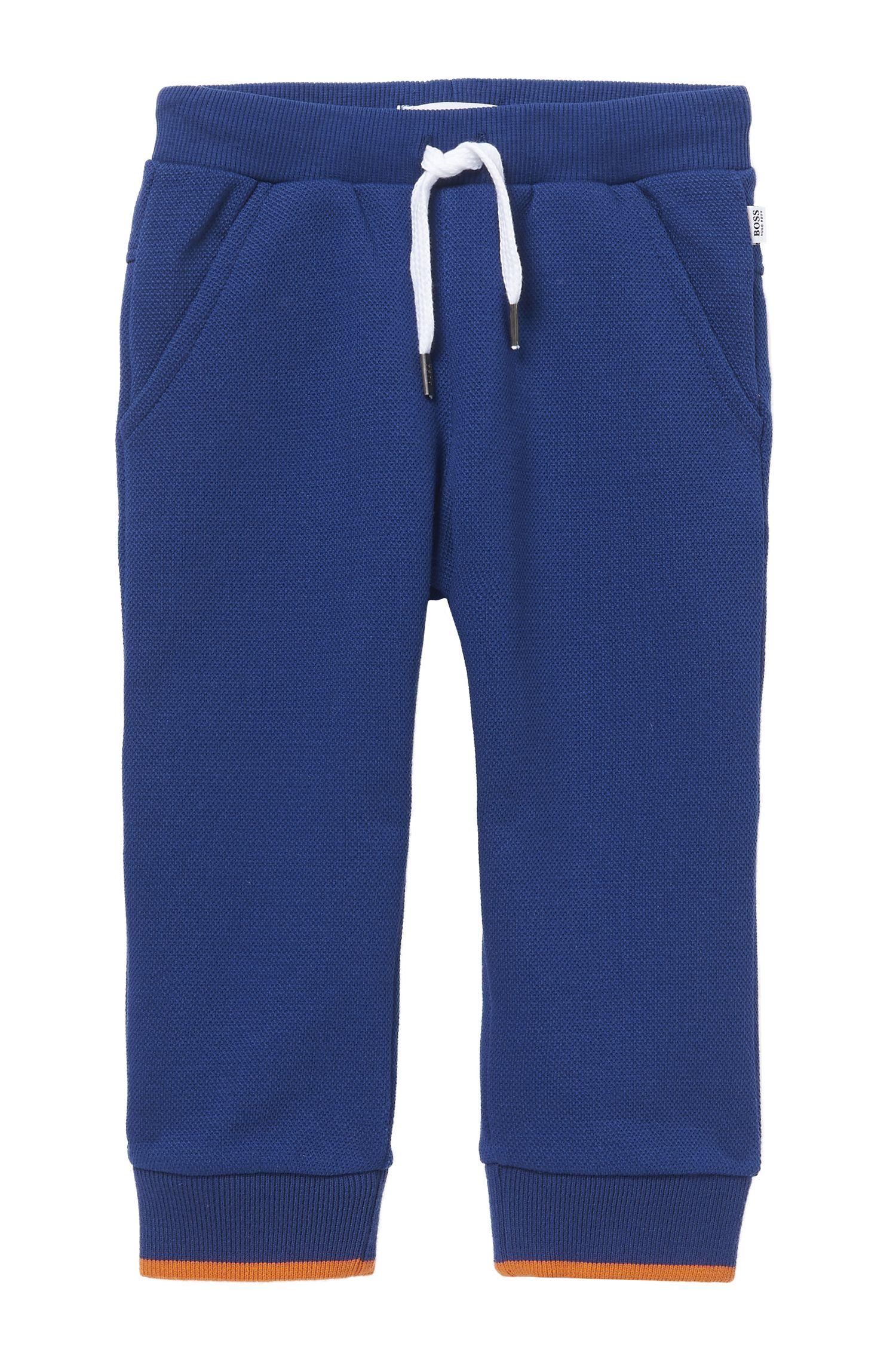 'J04246' | Toddler Cotton Pique Sweatpants