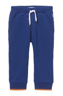 'J04246' | Toddler Cotton Pique Sweatpants, Dark Blue