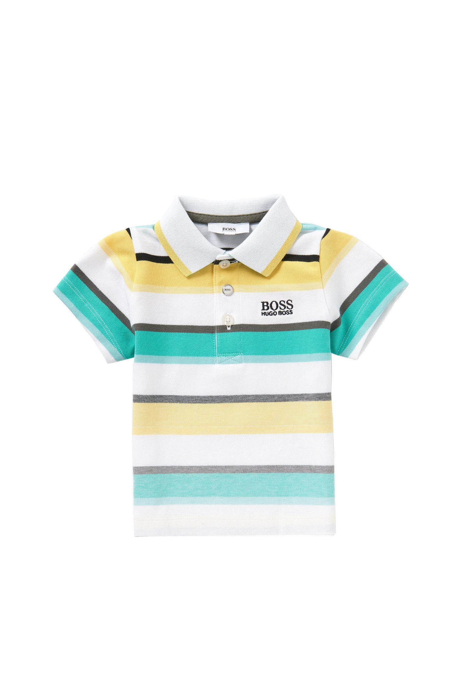 'J05446' | Toddler Stretch Cotton Polo Shirt