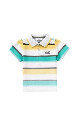 'J05446' | Toddler Stretch Cotton Polo Shirt, Green