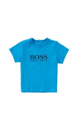 'J05453' | Toddler Cotton Logo T-Shirt, Turquoise