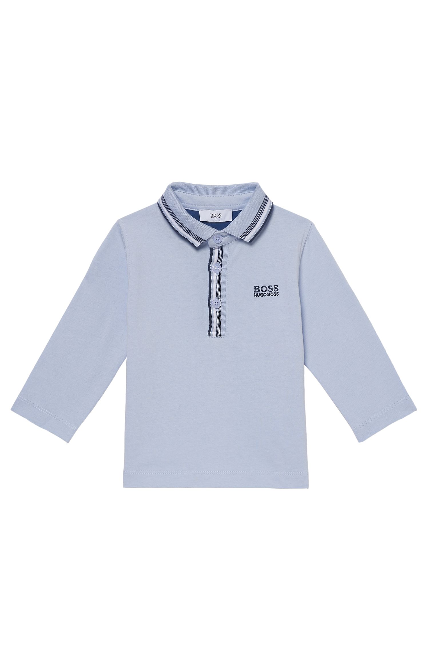 'J05500'   Toddler Stretch Cotton Blend Polo Shirt