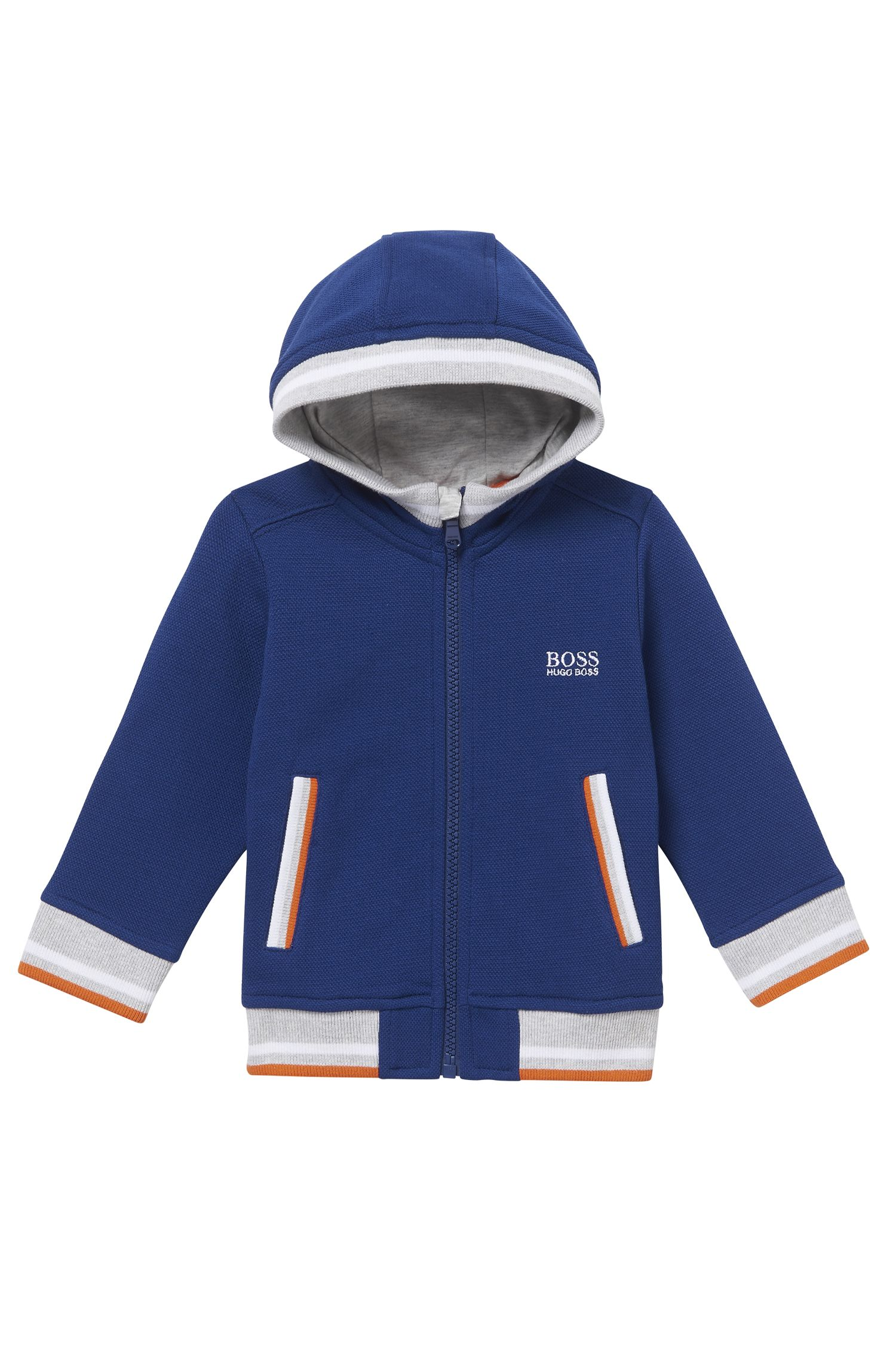 'J05521' | Toddler Stretch Cotton Blend Hood Sweat Jacket