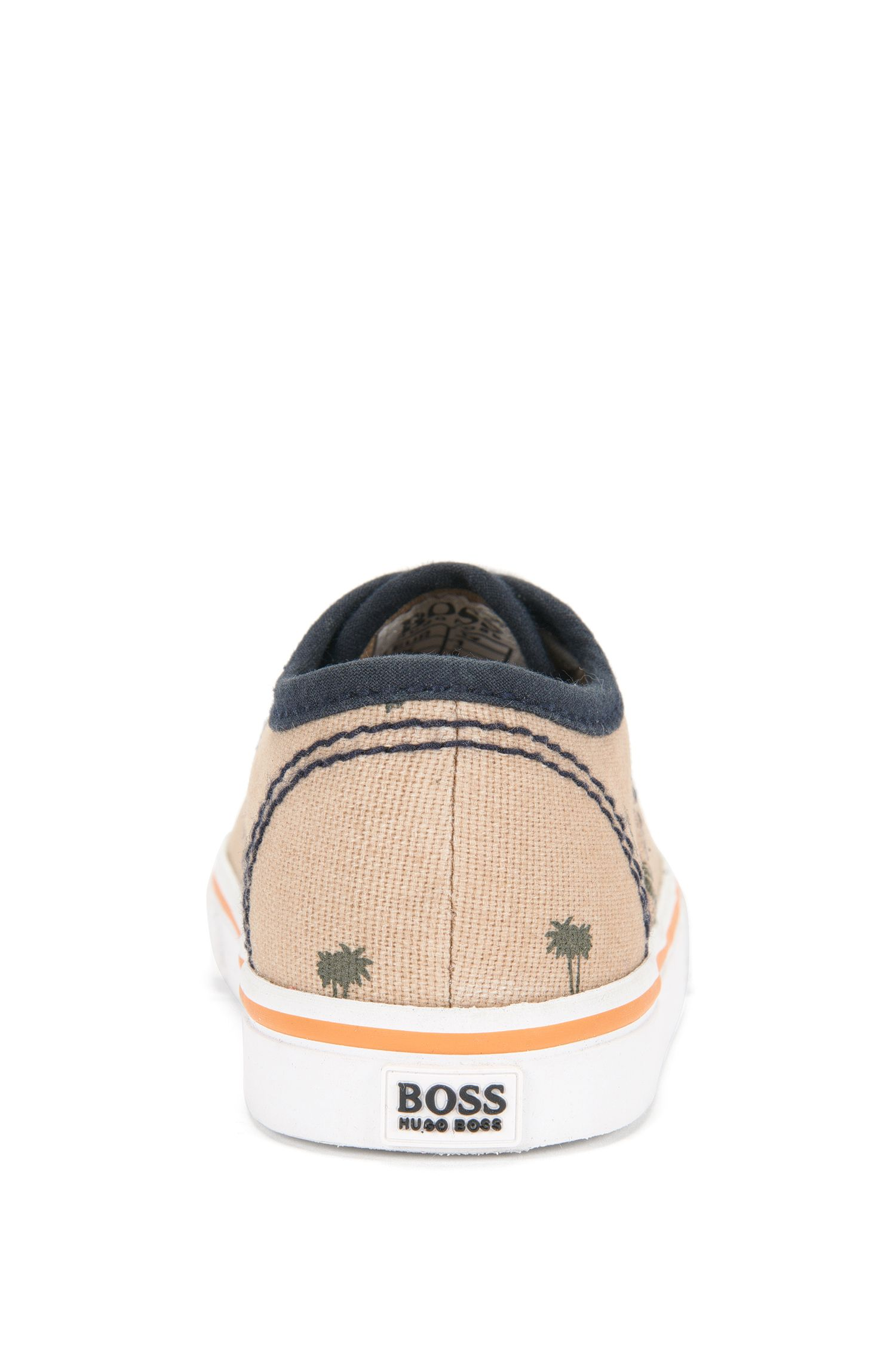 'J09083' | Toddler Cotton Lace-up Sneakers