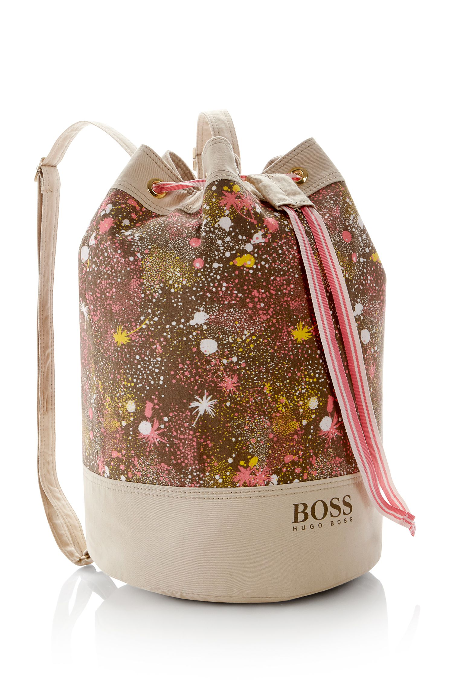 'J10097' | Girls Stretch Cotton Bucket Bag