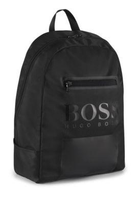 'J20V88'   Boys Backpack, Black