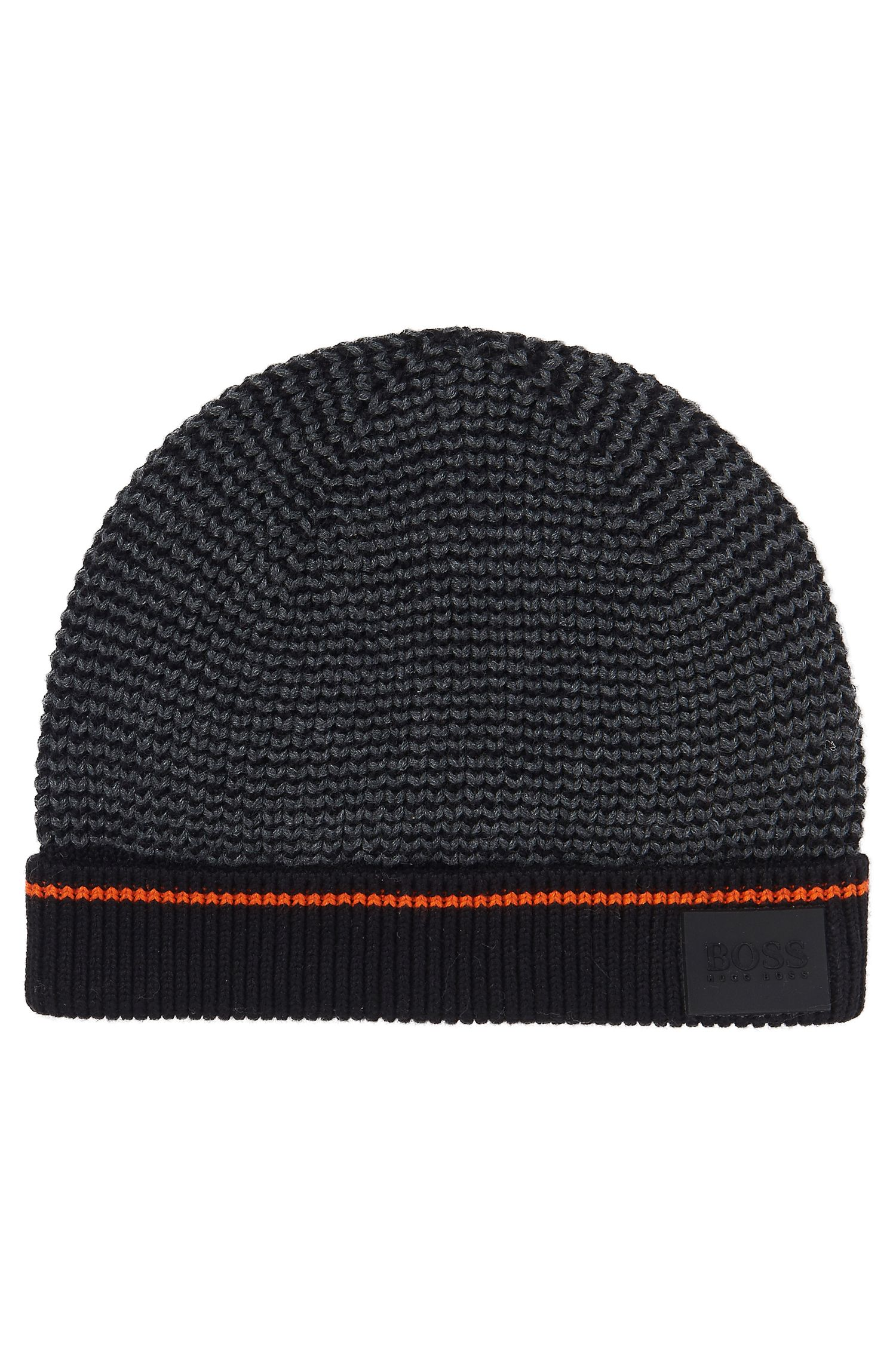 'J21174' | Boys Cotton Knit Beanie