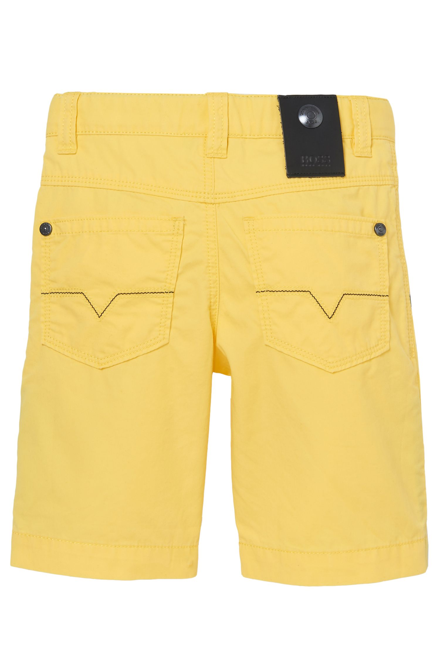 'J24386' | Boys Cotton Poplin Bermuda Shorts