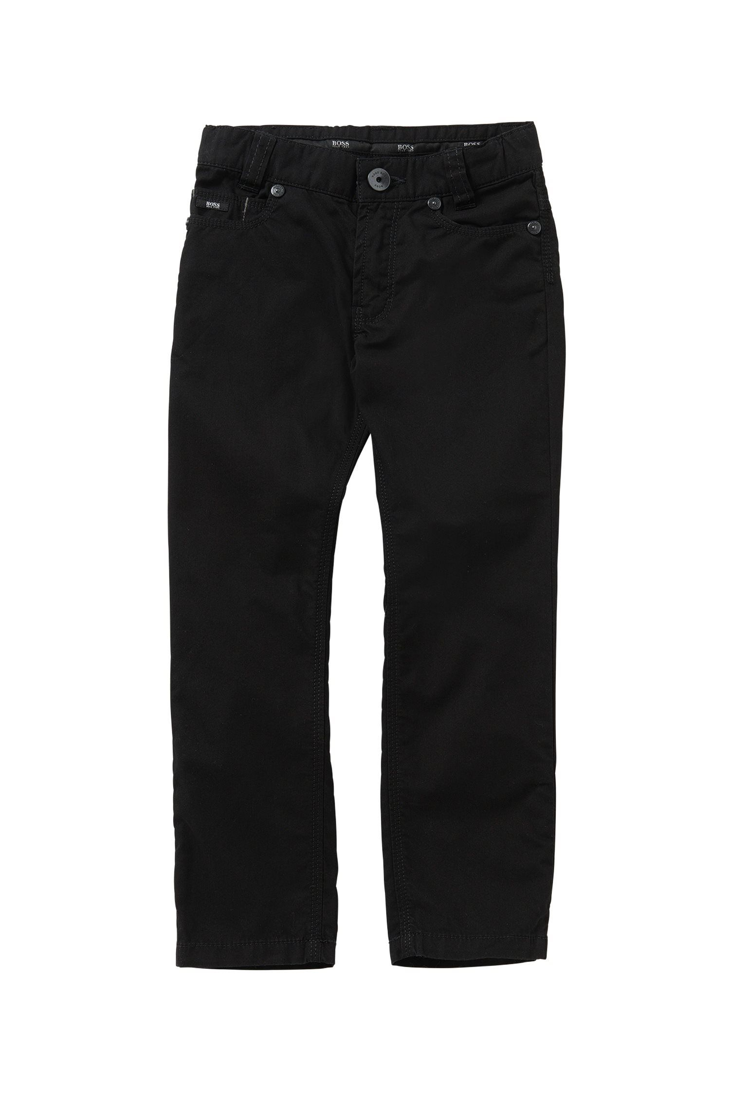 'J24393' | Boys Stretch Cotton Twill Pants