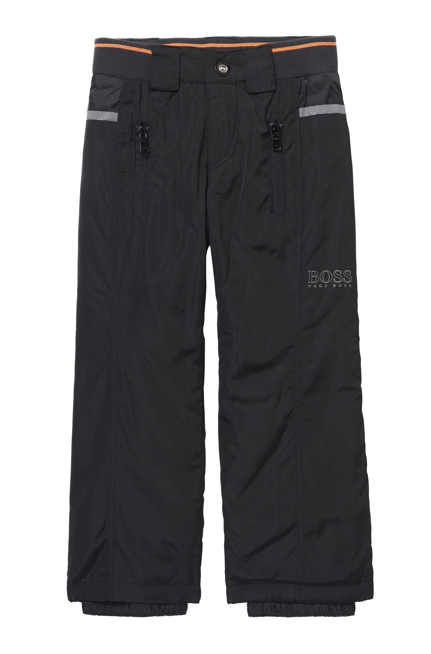 'J24417' | Boys Stretch Cotton Blend Snow Pants