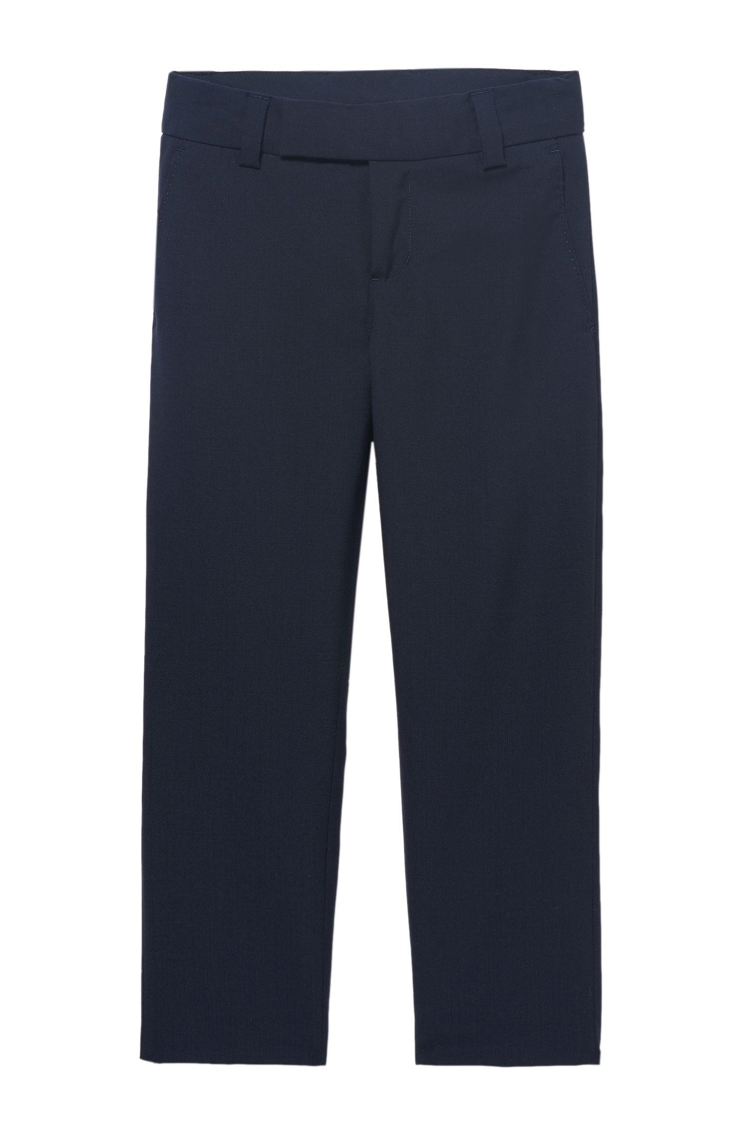 'J24V07' | Boys Wool Dress Pants