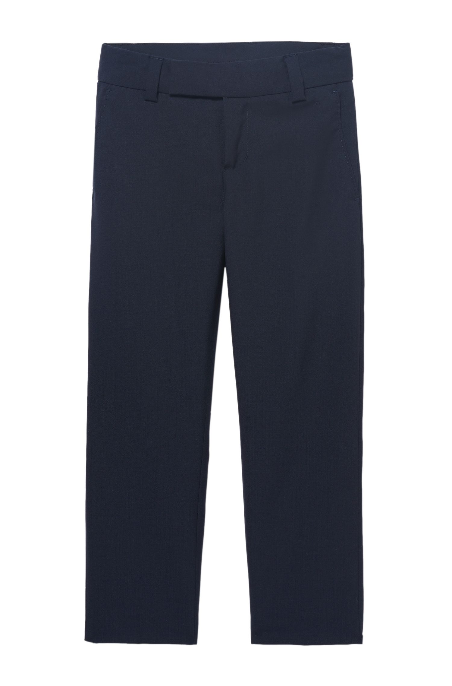 'J24V07' | Boys Wool Dress Pants