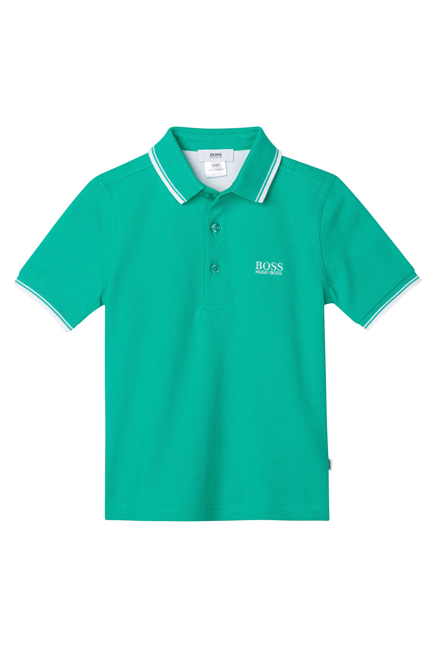 'J25910' | Toddler Cotton Pique Polo Shirt