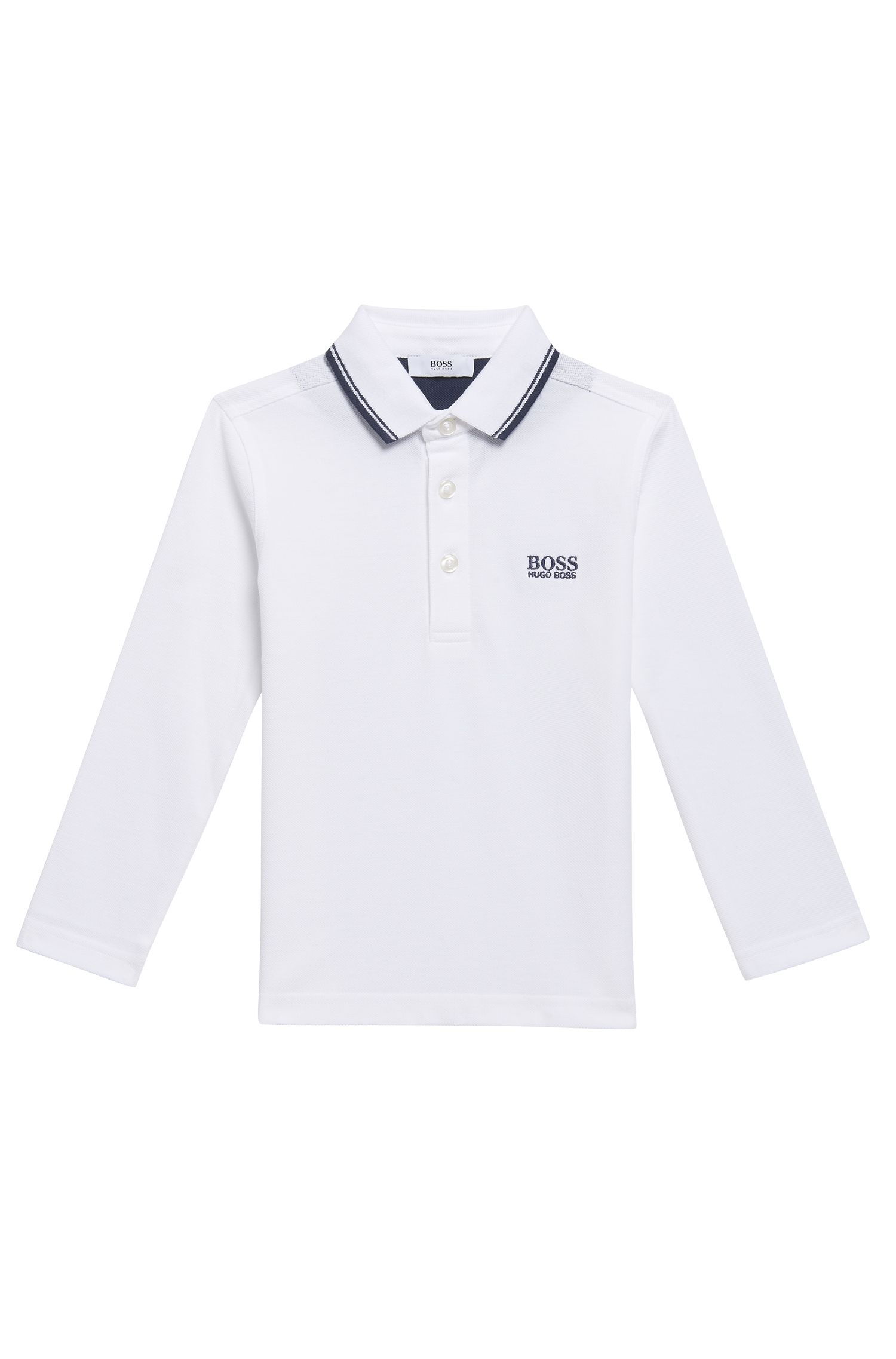 'J25V24' | Boys Cotton Polo Shirt