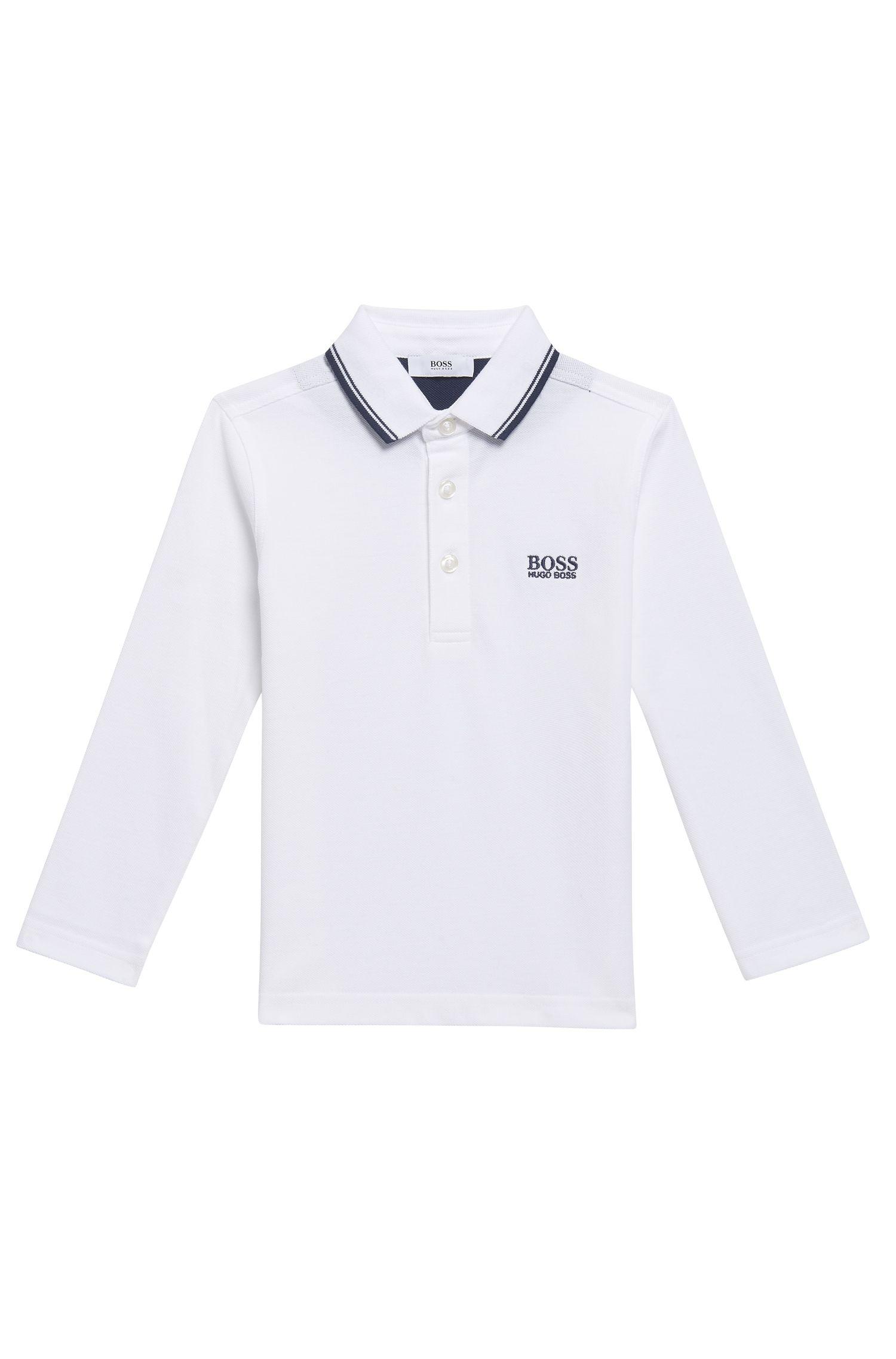 'J25V24' | Boys Cotton Polo Shirt