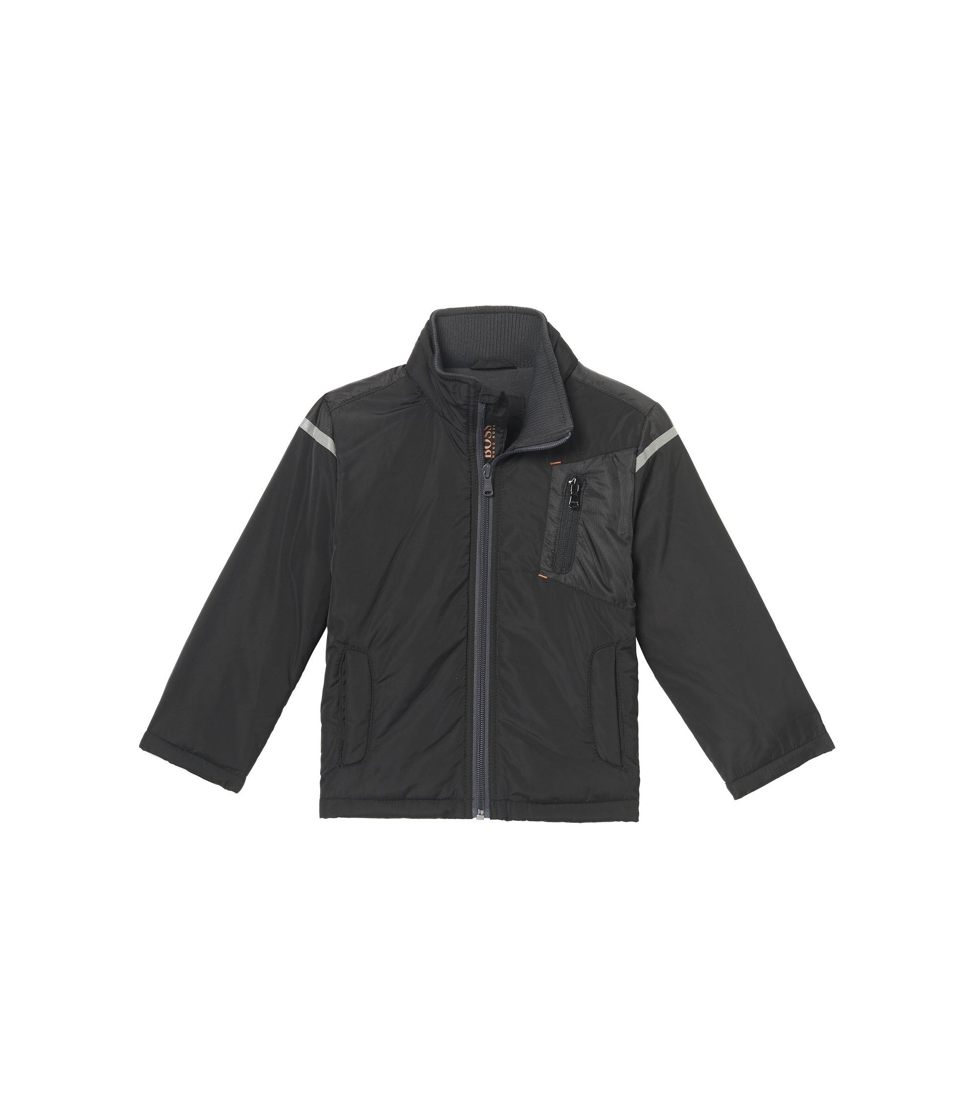 'J26291'   Boys Nylon Jacket, Black