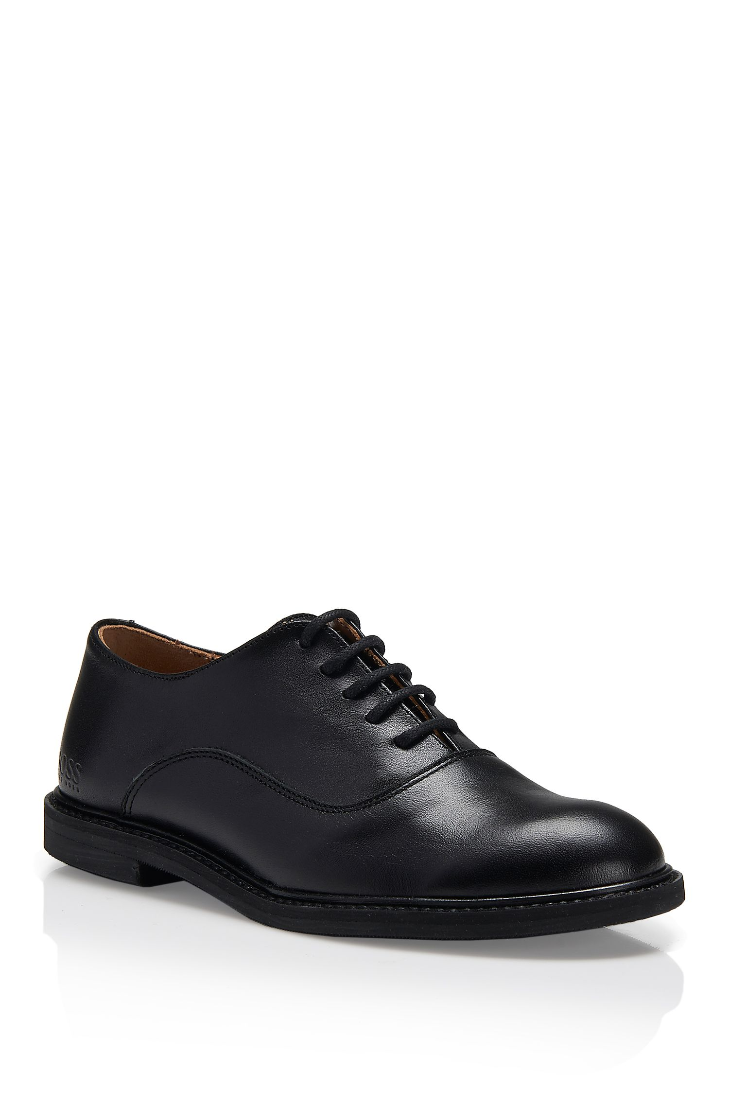 'J29097' | Boys Leather Derby Shoes