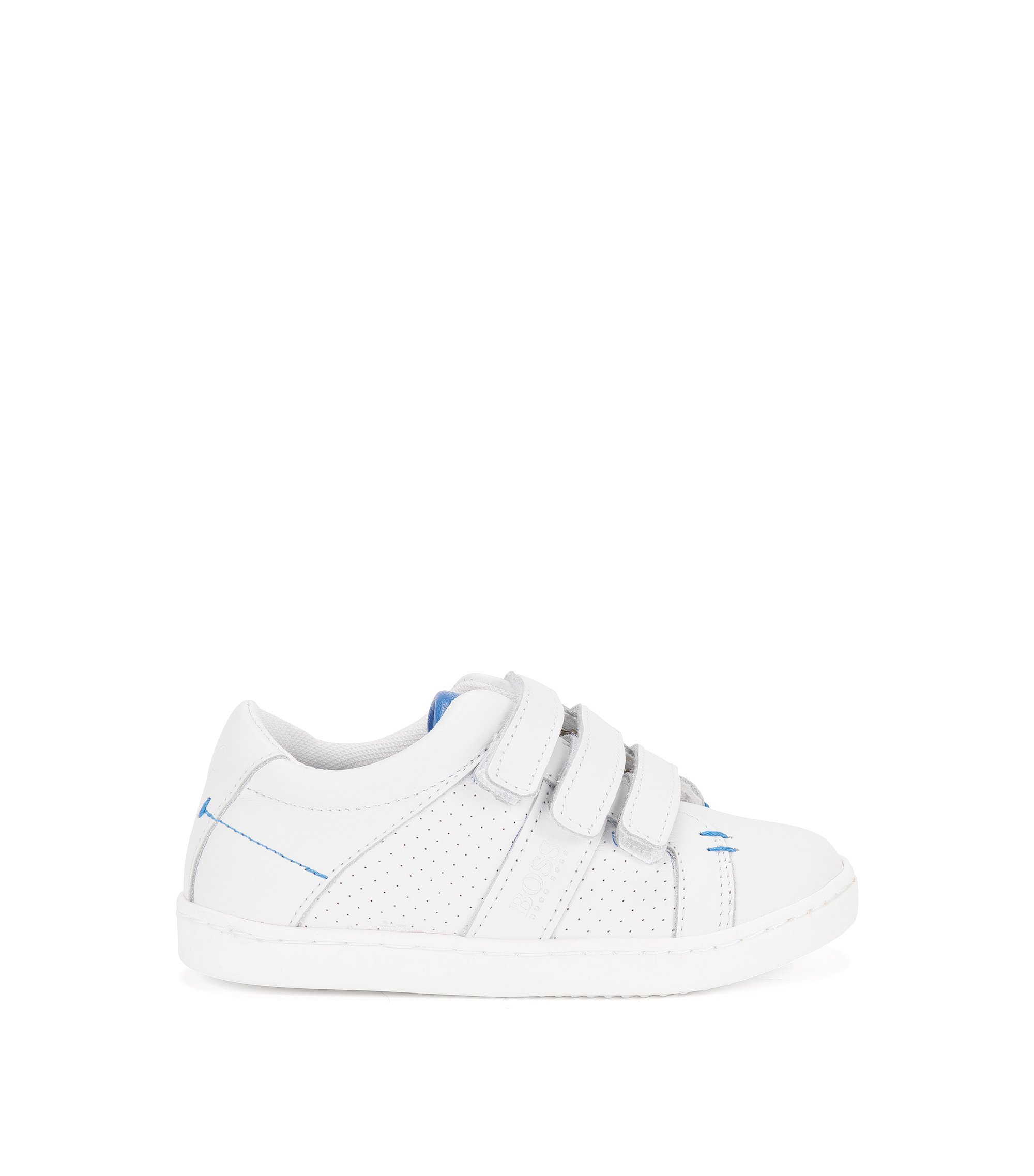 'J29114' | Leather Sneakers, White
