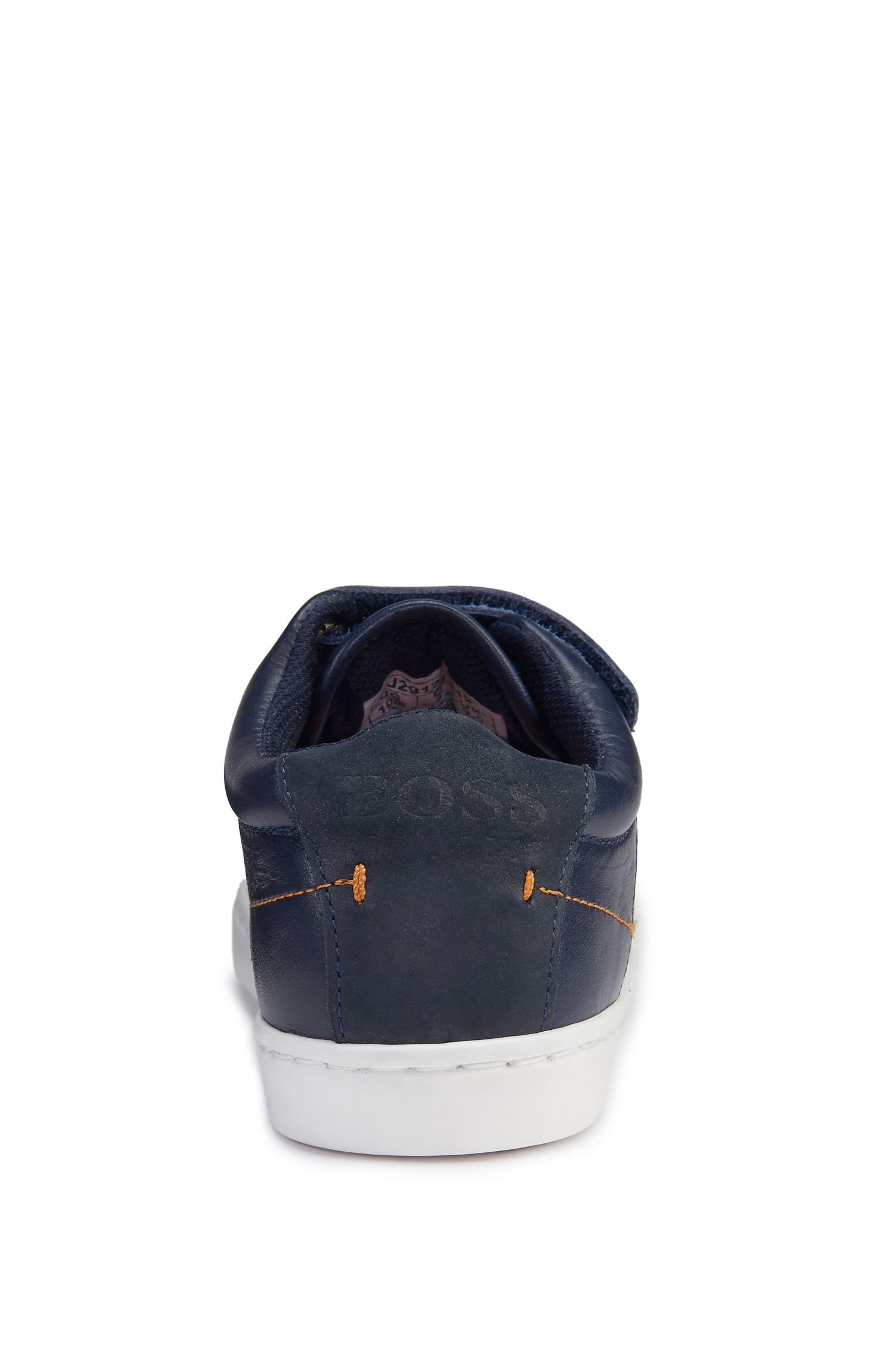 Kids' Leather Velcro Sneaker | J29122/84927