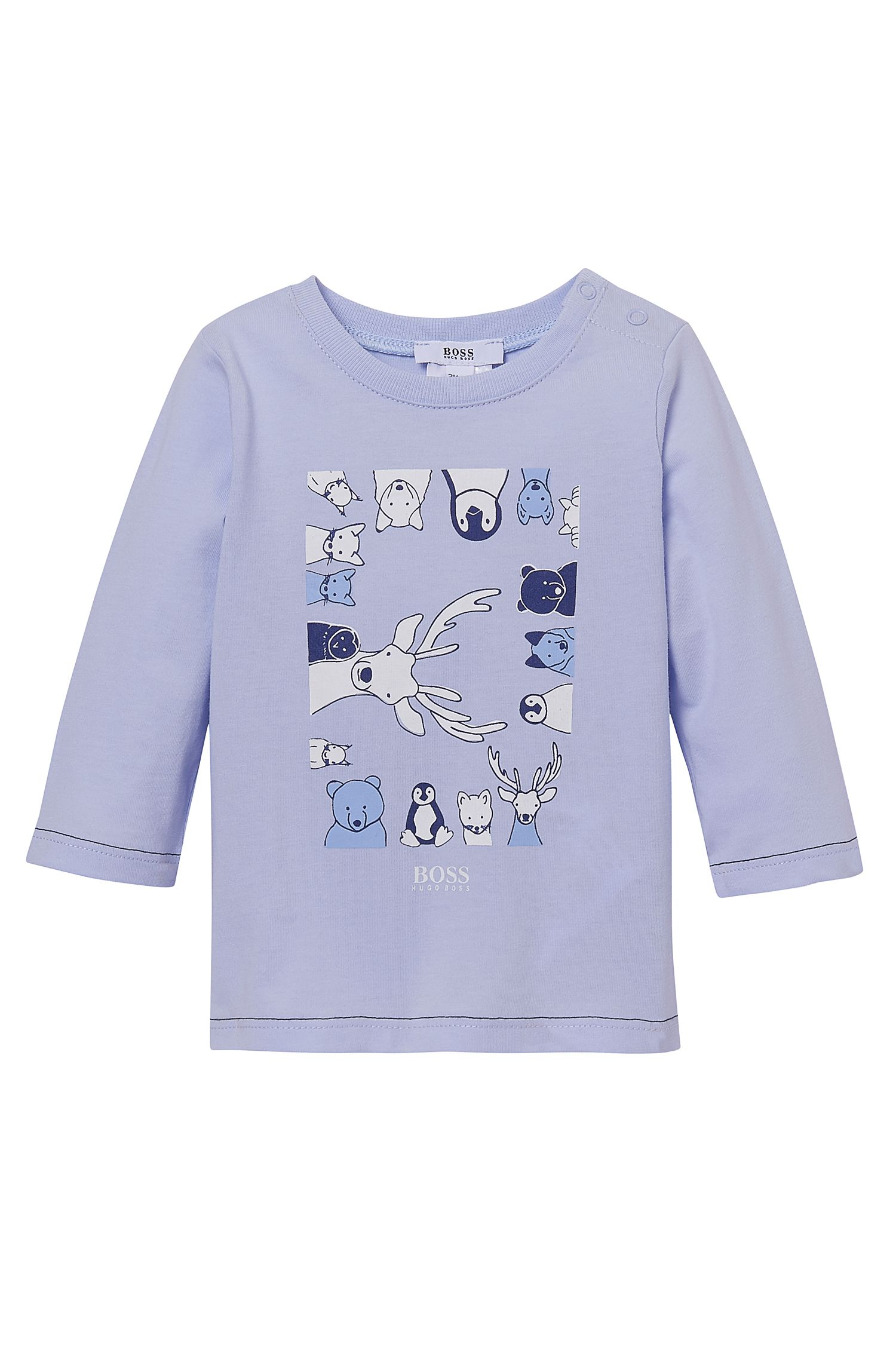 'J95165'   Newborn Animal T-Shirt