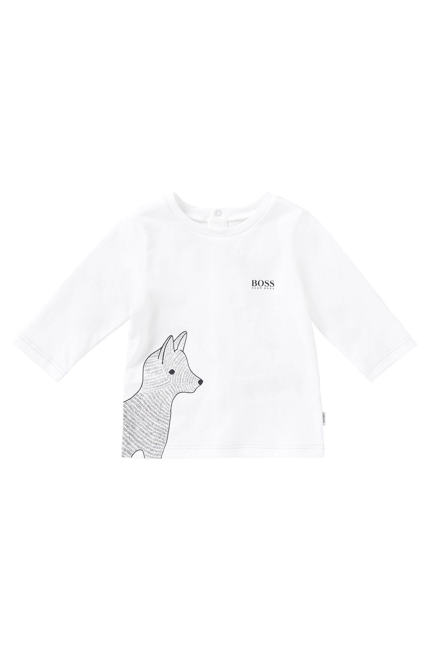 'J95166' | Newborn Cotton Graphic T-Shirt