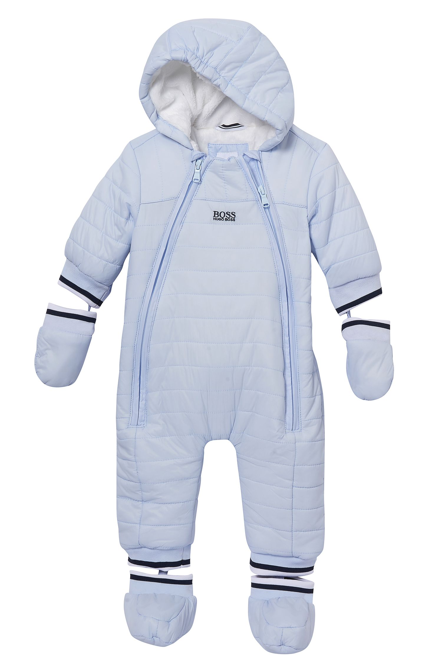 'J96042' | Newborn Nylon Blend Snowsuit