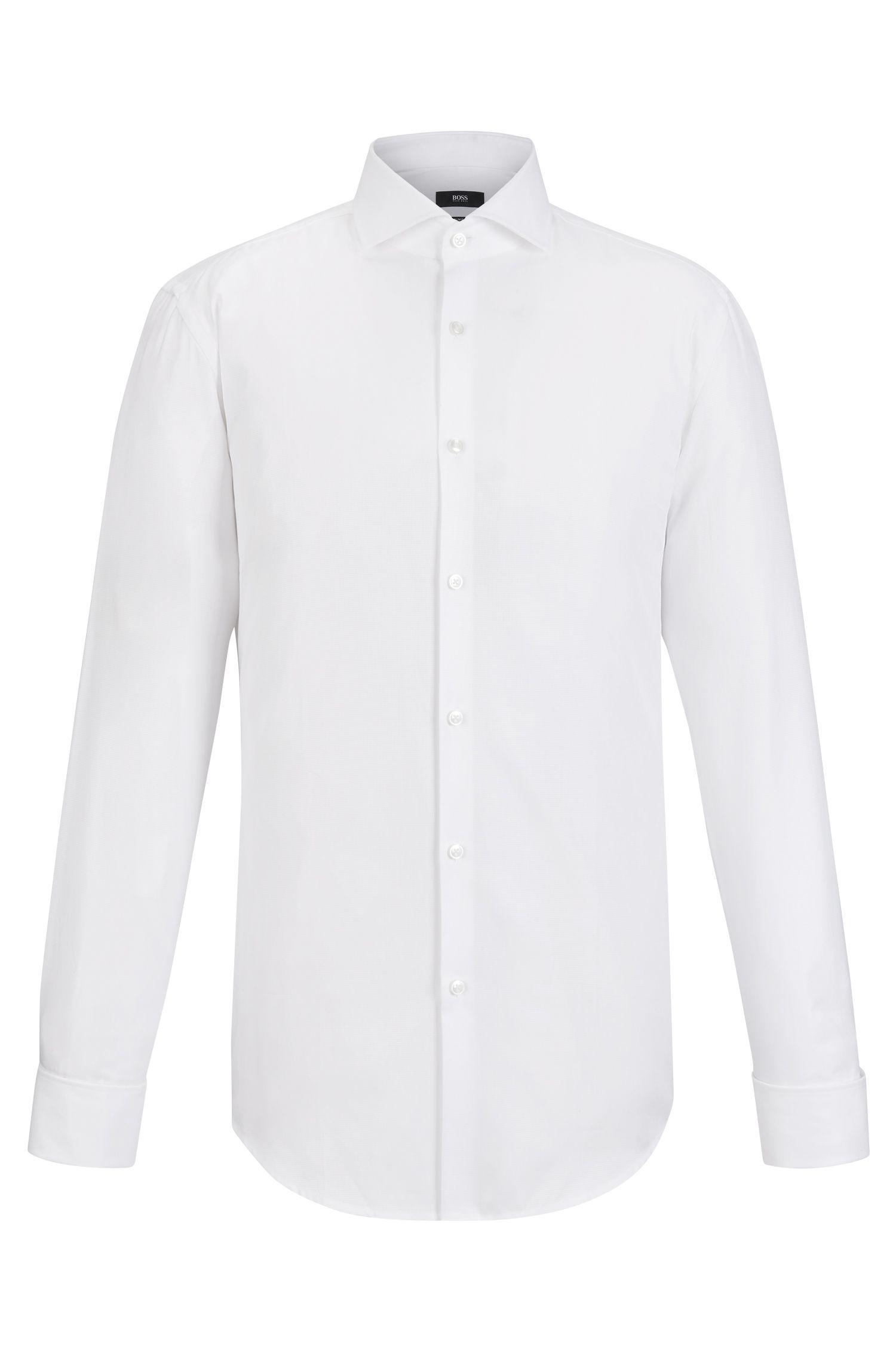 Cotton Dress Shirt, Slim Fit | Jaiden