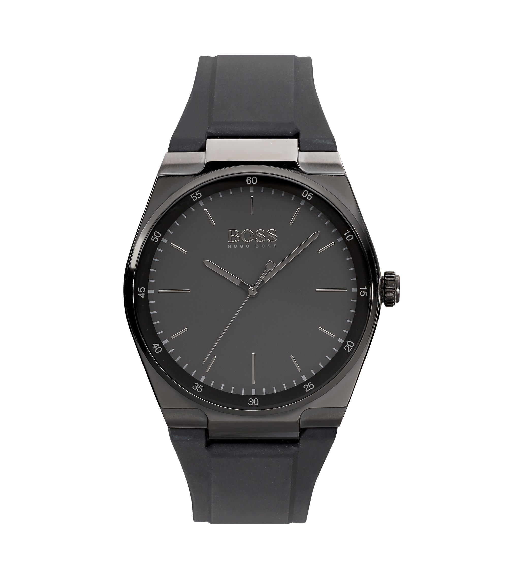 Black Dial  Watch With Black Strap | Magnitude , Assorted-Pre-Pack