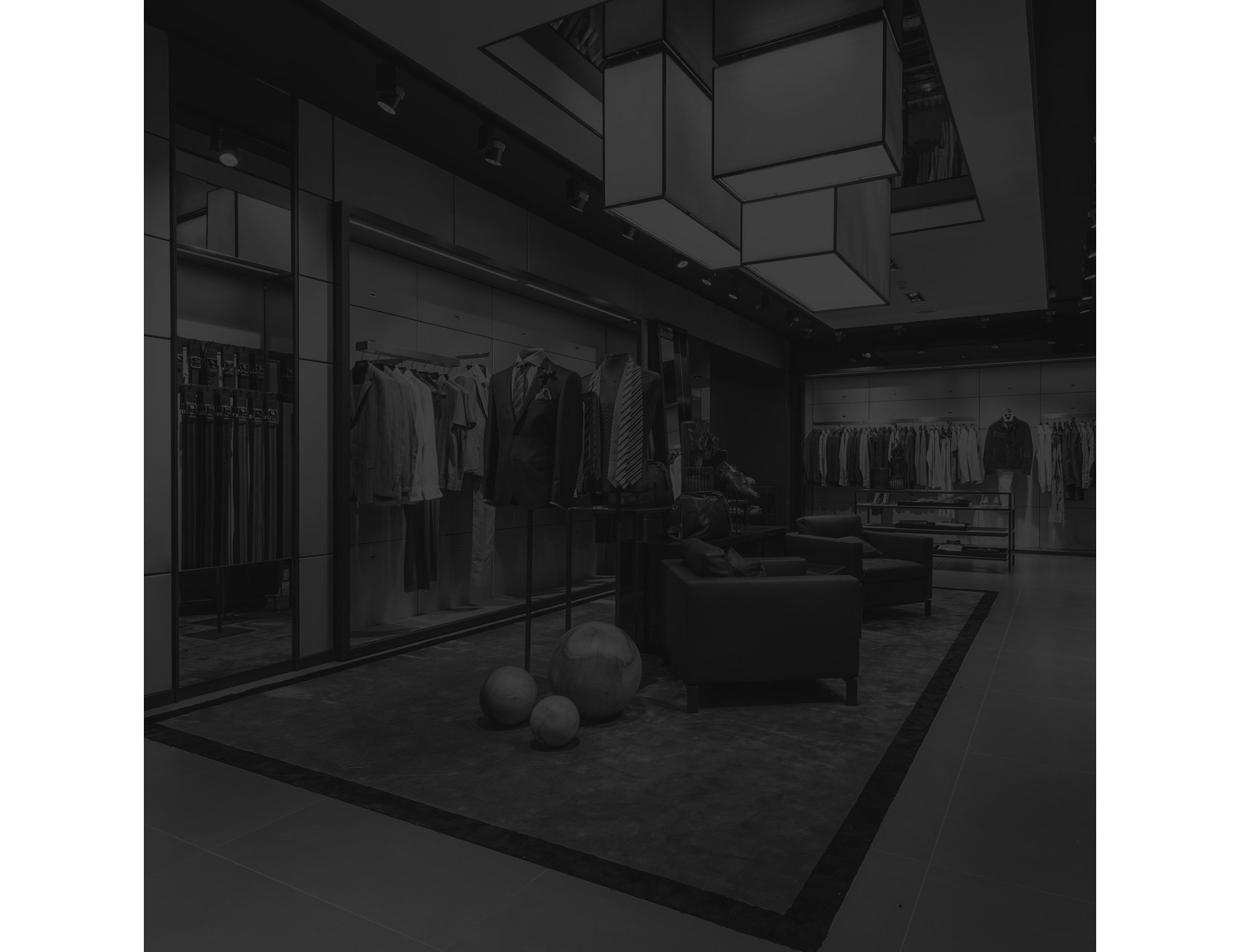 Interieur HUGO BOSS Store