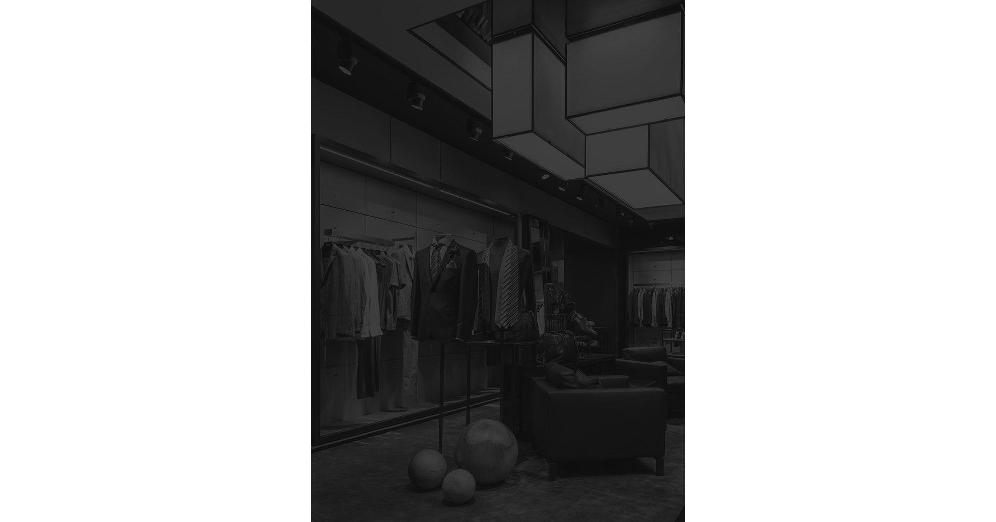 Interieur HUGO BOSS Store