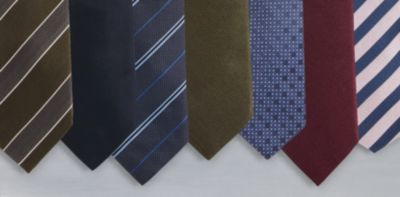BOSS ties collage