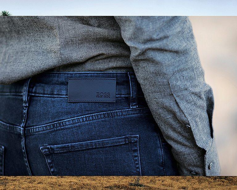 مثلث قطاع الطرق كبير Boss Jeans Loudounhorseassociation Org
