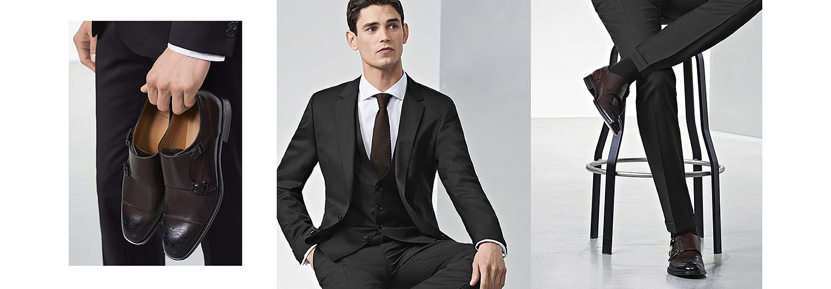 What to wear with navy blue shoes men